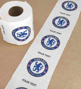 Chelsea Football Club Printed Novelty Toilet Paper