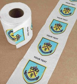 Burnley Football Club Printed Novelty Toilet Paper